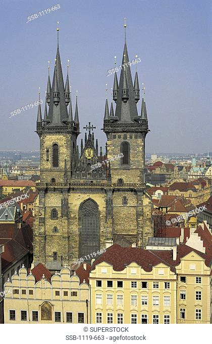 Church of Our Lady Before Tyn Prague Czech Republic