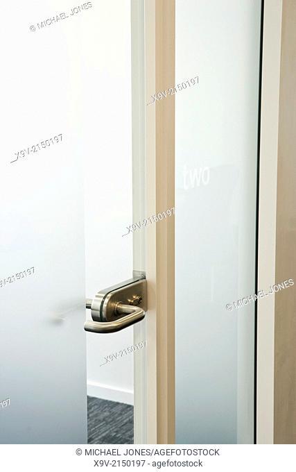 Office interior door handle