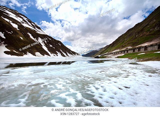 Lake in the Switzerland Alps