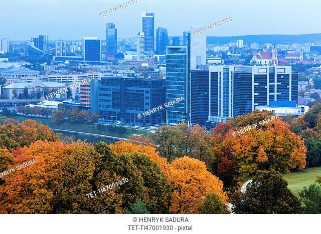 Lithuania, Vilnius, Modern architecture