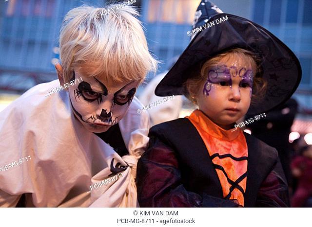 Halloween in Almere, the Netherlands&xA