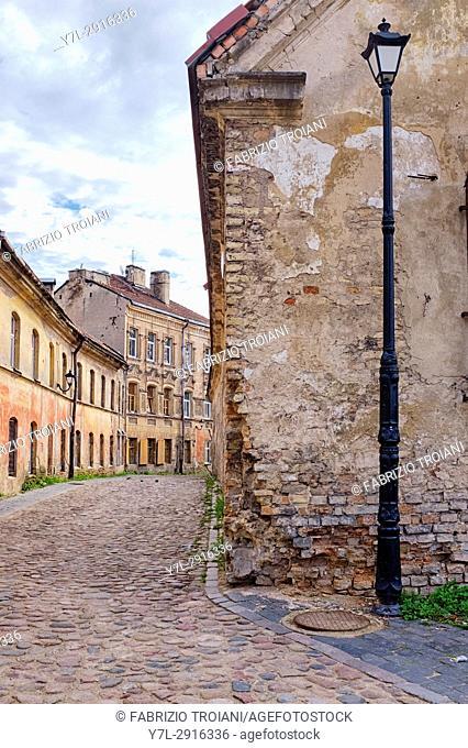 Vilnius old town, Vilnius, Lithuania