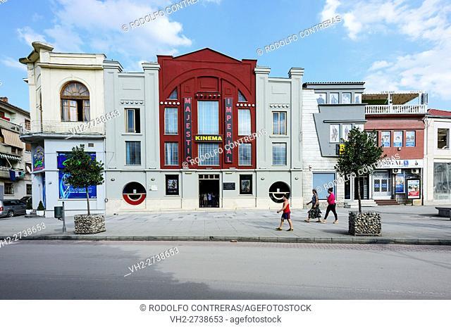Theater in Korce, Albania