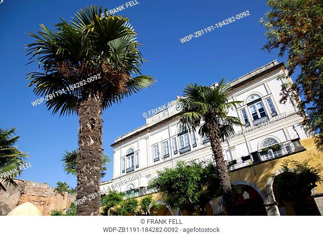 Portugal, Algarve, Silves, Town Hall Garden