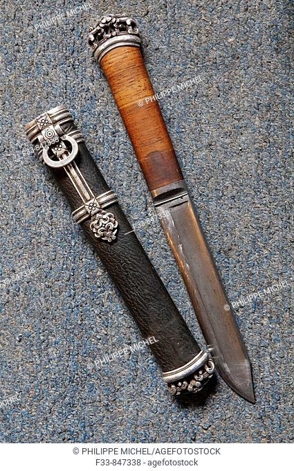 Knife, Tov province, Mongolia