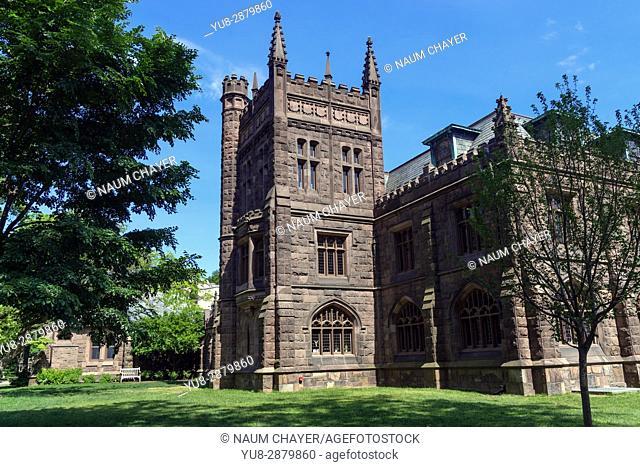 Murray-Dodge Hall, World famous Princeton University, New Jersey, USA