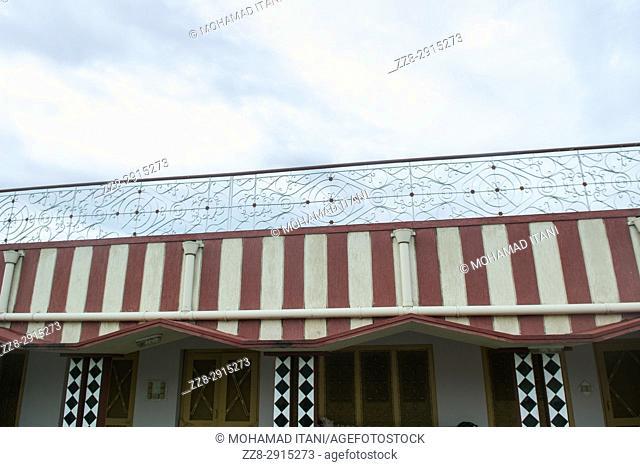 House exteriors Kharian village Pakistan