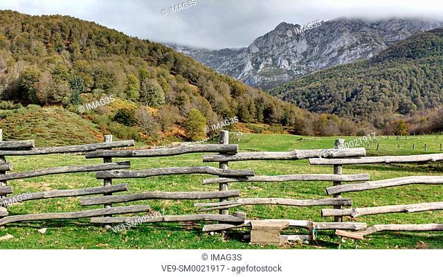 Vegabaño, Cornión Massif, Picos de Europa National Park and Biosphere Reserve, León province, Spain