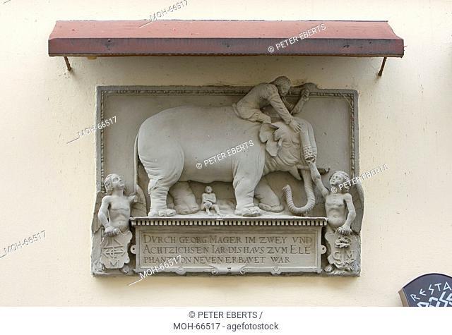 Alstadt Bamberg, Hauszeichen zum Elefanten