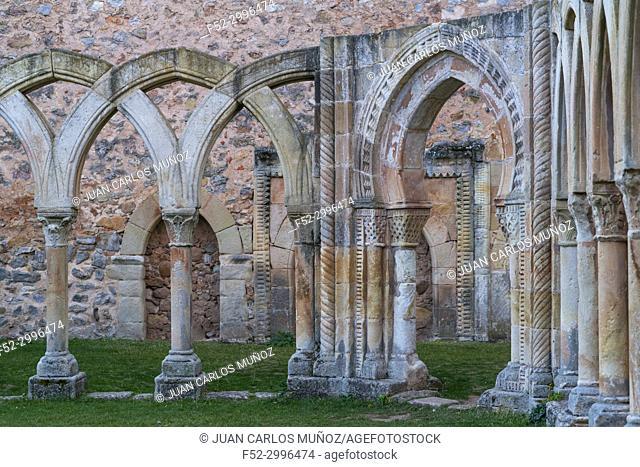 Monasterio de San Juan de Duero, Soria province, Castilla y Leon, Spain, Europe