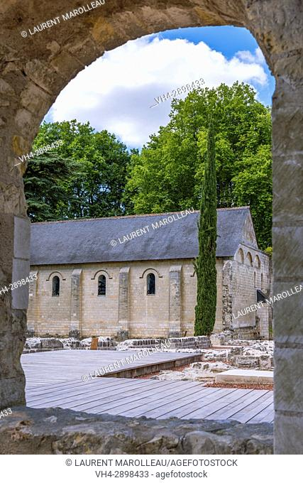 Refectory from the Church at Saint Cosme Priory also called Home of Ronsard, La Riche, Tours District, Indre-et-Loire Department, Centre-Val de Loire Region