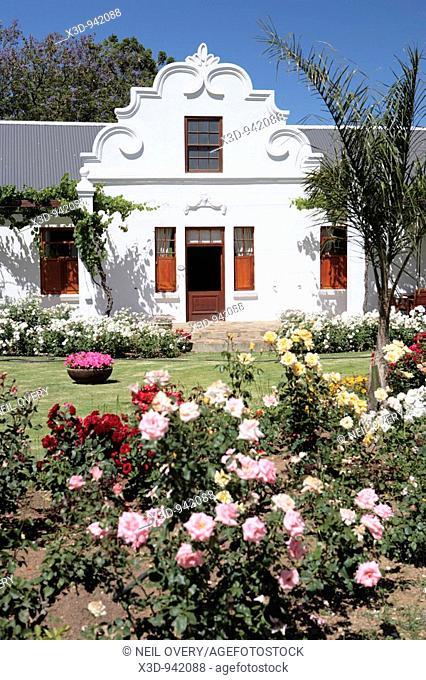 Manor house at Bon Cap Vineyard South Africa