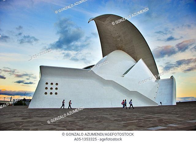 Opera House  Santa Cruz de Tenerife  Tenerife  Canary Islands  Spain