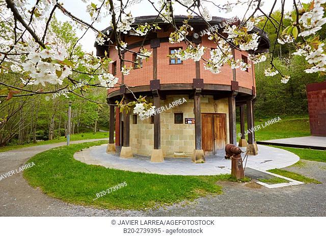 Iron Museum. Parque y Ferrería de Mirandaola. Legazpi, Gipuzkoa, Basque Country, Spain