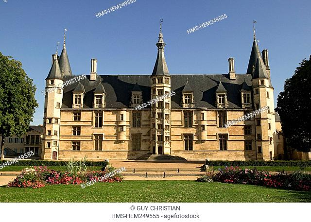 France, Nievre, Nevers, the Ducal Palace, the Dukes of Nevers' former house