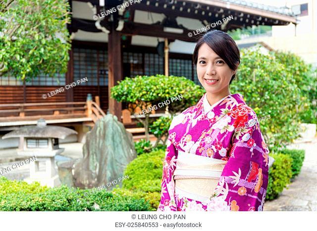 Japanese woman in gadren