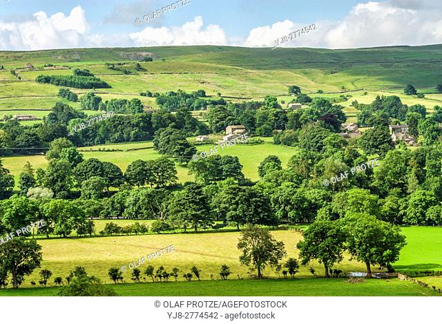 """The North Pennines is the northernmost part of the so-called """"""""backbone of England"""""""", the range of hills which runs through the centre of the northern half of..."""
