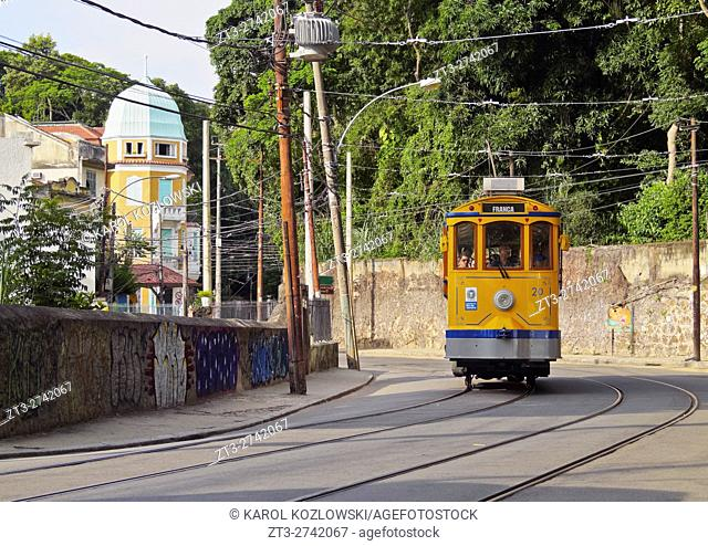 Brazil, City of Rio de Janeiro, The Santa Teresa Tram