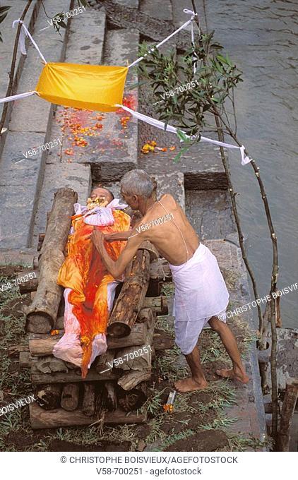 Cremation  Pashupatinath  Nepal