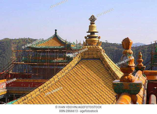 Putuo Zongcheng temple (1771), Chengde, China