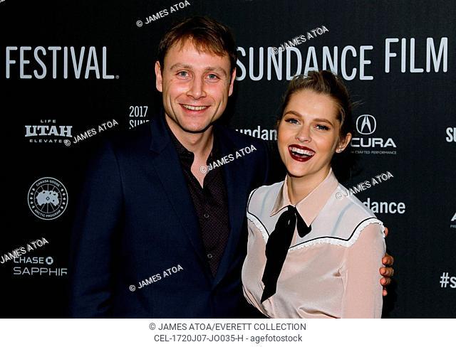 Max Riemelt, Teresa Palmer at arrivals for BERLIN SYNDROME Premiere at Sundance Film Festival 2017, MARC-Park City Municipal Athletic & Recreation Center