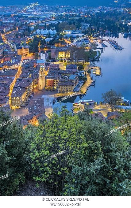 Riva del Garda, Lake Garda, Trento province, Trentino Alto Adige, Italy