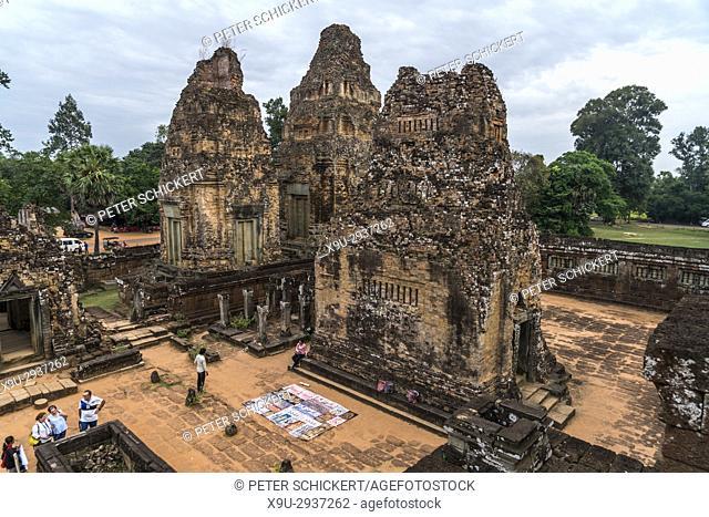 Pyramidentempel Pre Rup, Region Angkor, Kambodscha, Asien | Temple Mountain Pre Rup, Angkor region, Cambodia, Asia