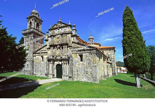 Church of Santa María la Real. Terrachá, Entrimo, Baixa Limia-Serra do Xurés Natural Park. Orense province, Galicia, Spain