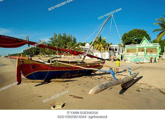 Beach Of Grand Pavois, Mahajanga, Madagascar