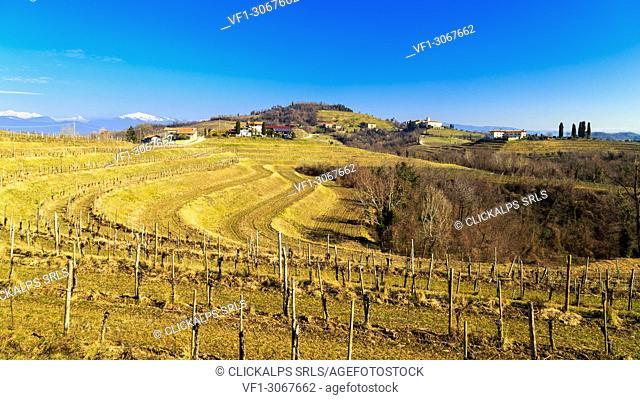 Abbazia di Rosazzo, Collio Friulano, Udine Province, Friuli Venezia-Giulia, Italy