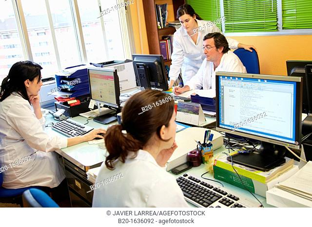 Office, Administrative Area, Clinical Trials Unit, Testing in Phase 1, the first drug administration in humans, Pharmacy, Area Health