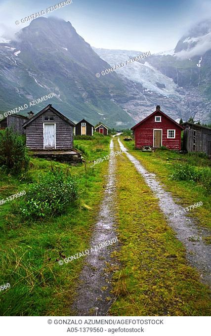 Boyabreen Glacier Sognefjord Sogn & Fjordane Norway