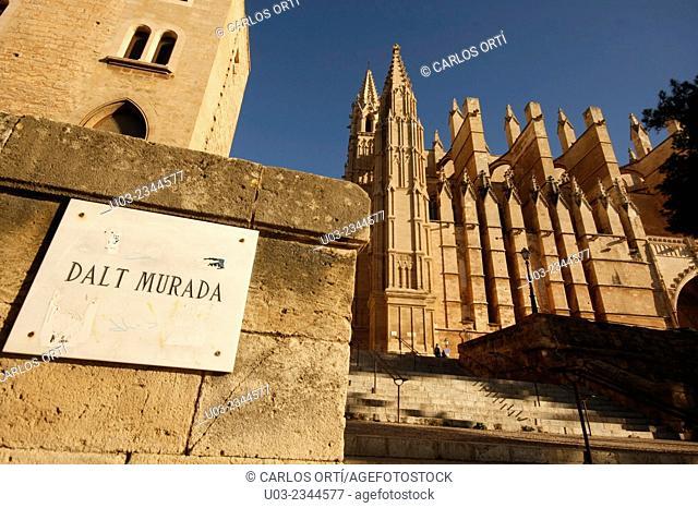 Cathedral of Palma de Majorca. Spain