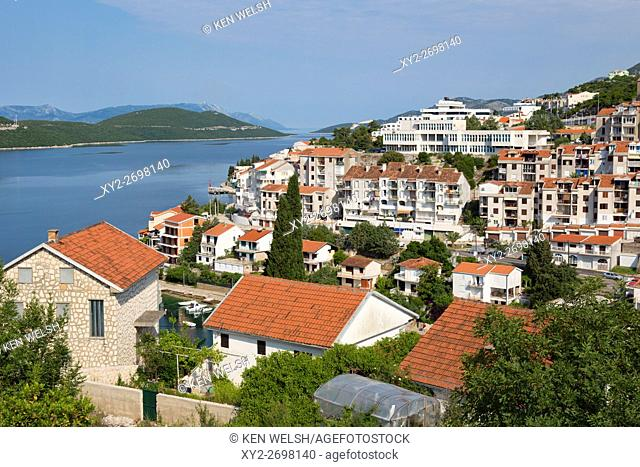 Neum, Bosnia-Hercegovina. Property with sea view