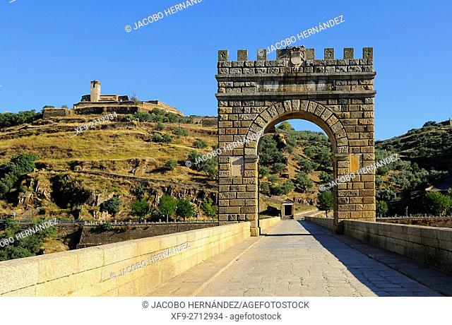 Roman bridge of Alcantara.Cáceres province.Extremadura.Spain