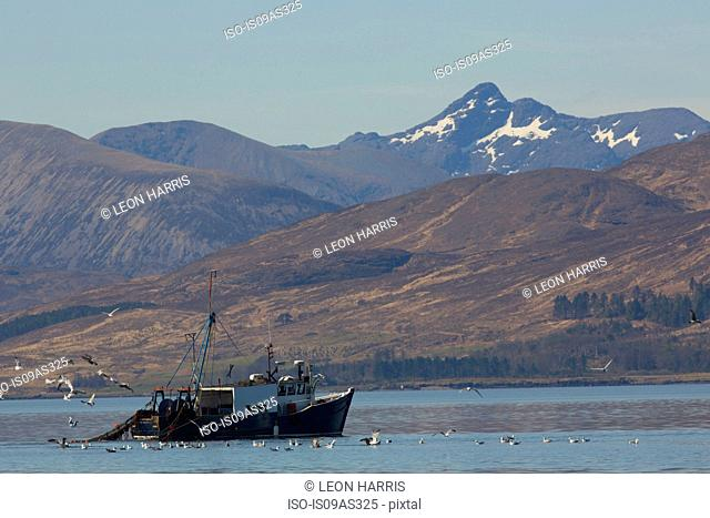 Trawler, Isle of Skye, Scotland
