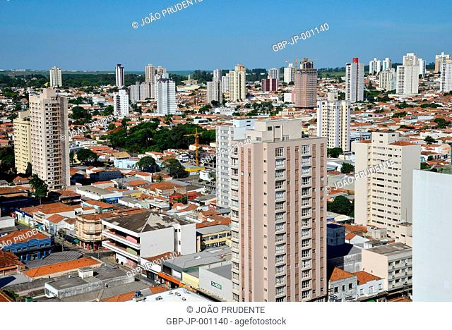 View from above, city, 2016, Piracicaba, Sao Paulo, Brazil