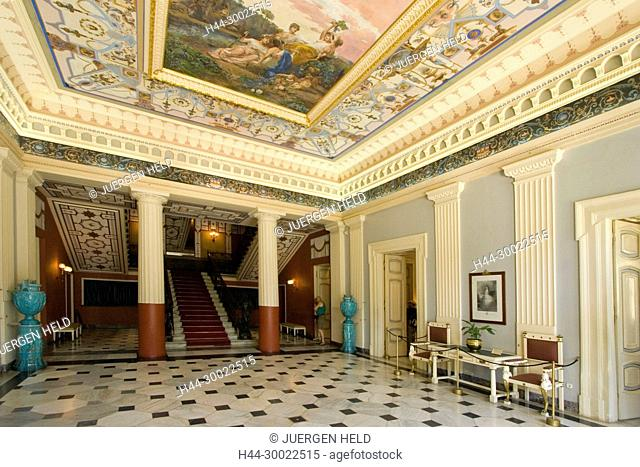 Griechenland Korfu Sissi Palast Achillion Innenaufnahme