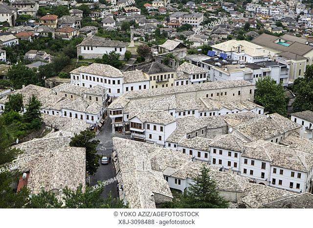Albania, Gjirokaster, landscape