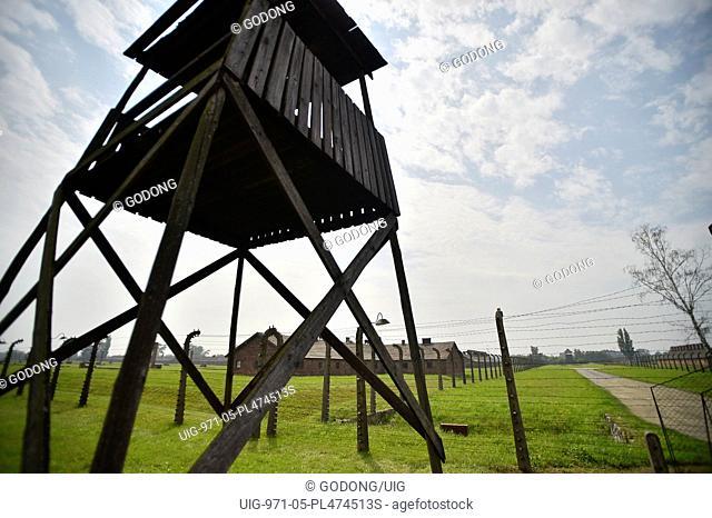 Auschwitz Concentration Camp Perimeter