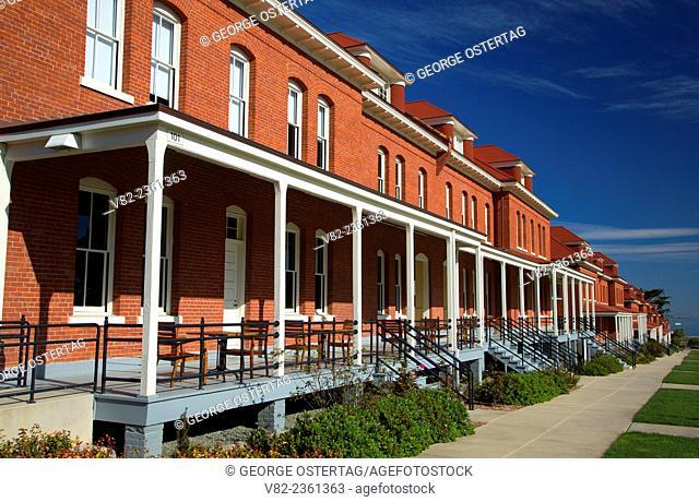 Main Post, Presidio of San Francisco, Golden Gate National Recreation Area, San Francisco, California