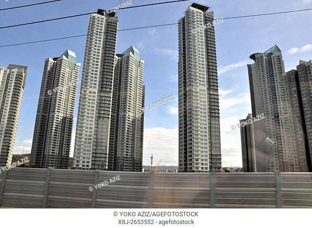 South Korea, Seoul, new town