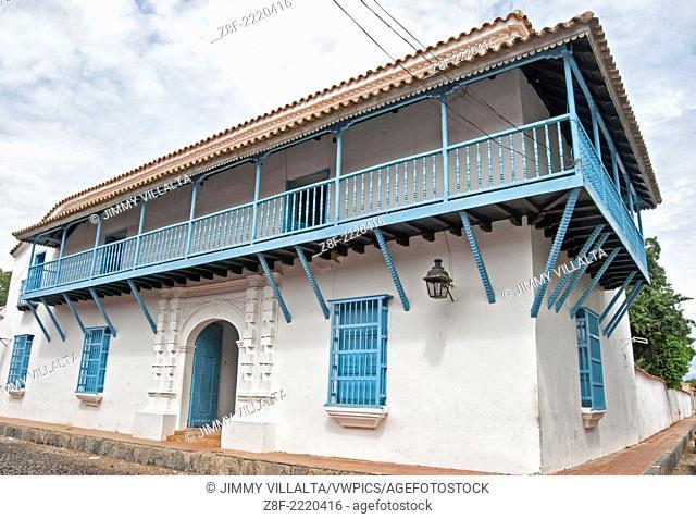 Colonial house. Coro, Falcón state. Venezuela