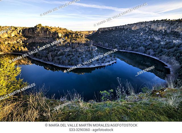 River Duraton. Segovia. Spain. Europe