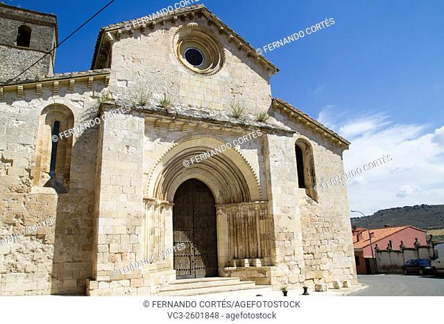Church of San Miguel, Romanesque transition, thirteenth century. Brihuega, spain