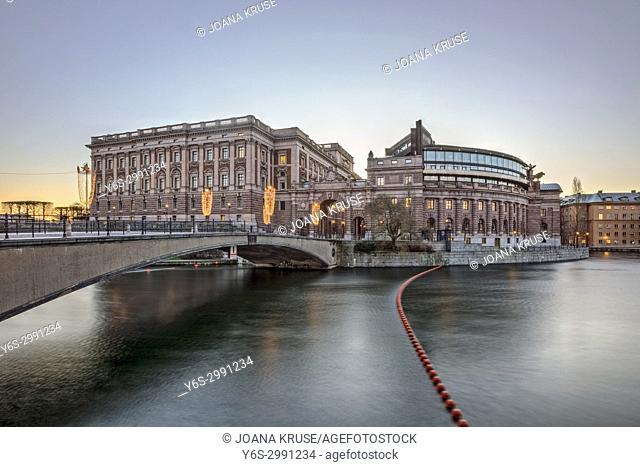 Riksdag, Helgeandsholmen, Stockholm, Sweden, Europe