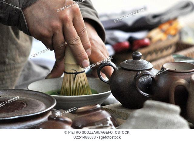 Seoul (South Korea): traditional tea ceremony in Insadong