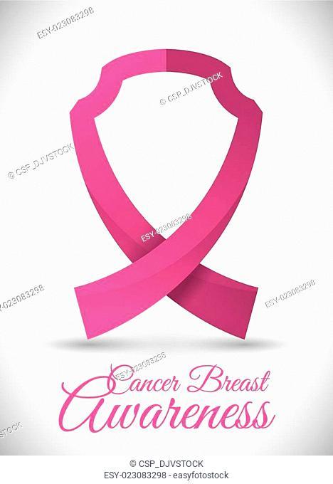 Breast cancer design, vector illustration
