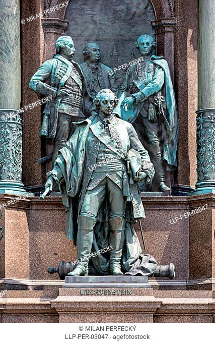 Sculpture of Maria Theresa, Vienna, Austria