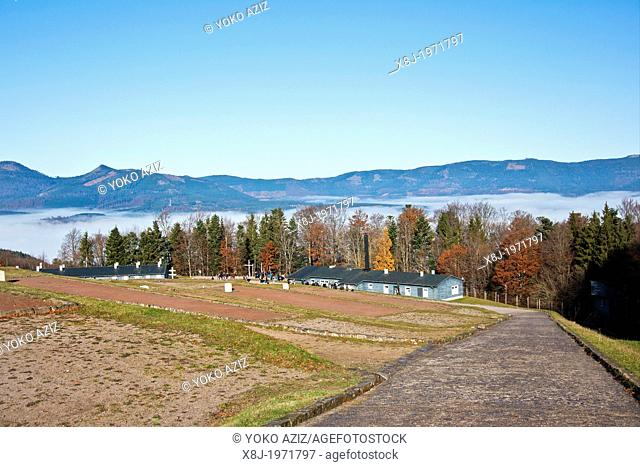 Alsace, Natzweiler Struthof camp